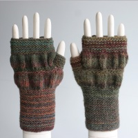 Arcadia Ruched Fingerless Gloves