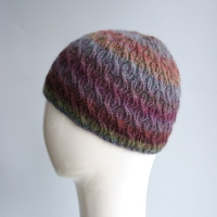 Ruby Cable Rib Hat