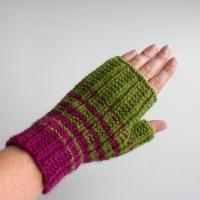Green & Purple Gloves