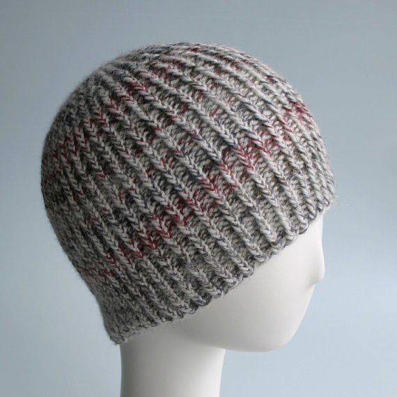Knit Pattern: Twisted Rib Reversible Hat Knits & Prints