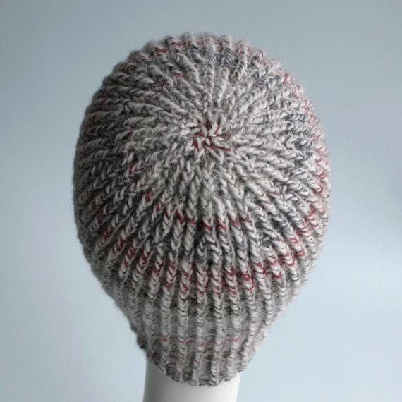 Knitting Pattern Twisted Ribbing : Knit Pattern: Twisted Rib Reversible Hat Knits & Prints