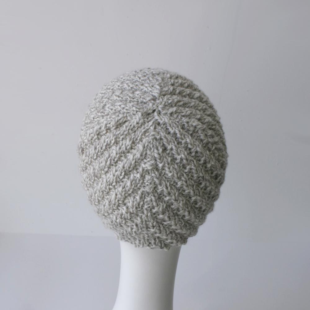 Knitting Pattern Aviator Hat : Knit Pattern: Herringbone Rib Aviator Hat Knits & Prints