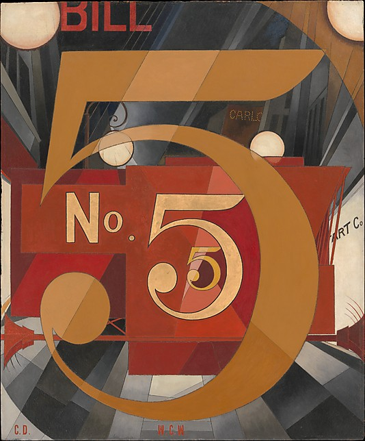 Charles Demuth I Saw the Figure 5