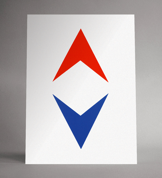"Kurt Seidle, ""Untitled (Double Arrow)"""