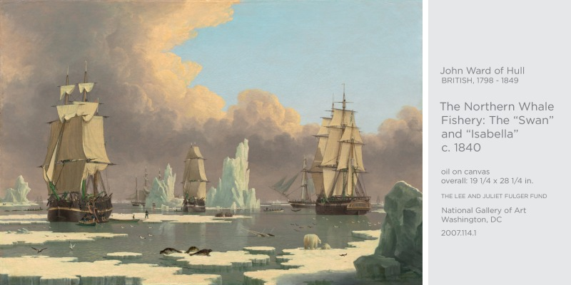 polar scenes paintings